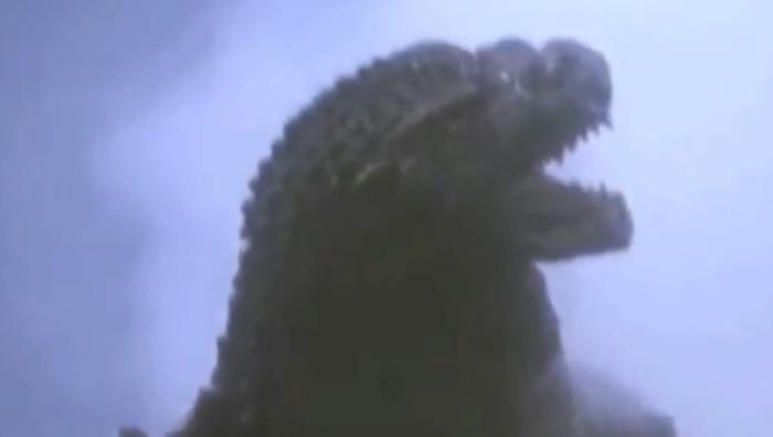 Kanye West Plays Godzilla