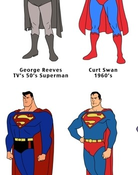 ART: Superman 75th Anniversary Sketches