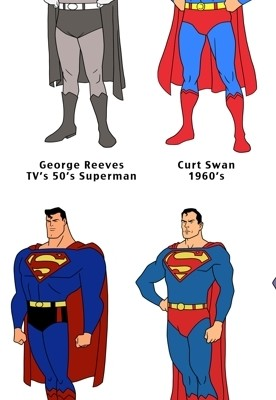 ART: Superman 75th Anniversary Sketches