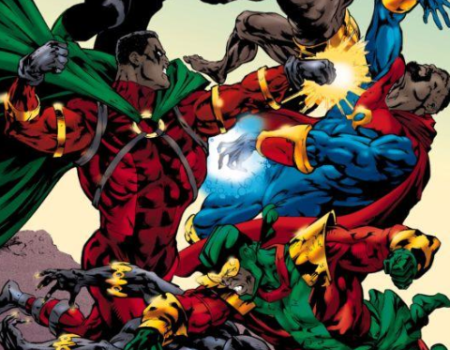 Black Superheroes: Then And Now  (EDITORIAL)
