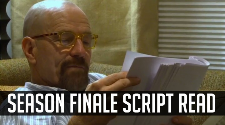 Bryan Cranston & Aaron Paul Read The Final Breaking Bad Script (VIDEO)