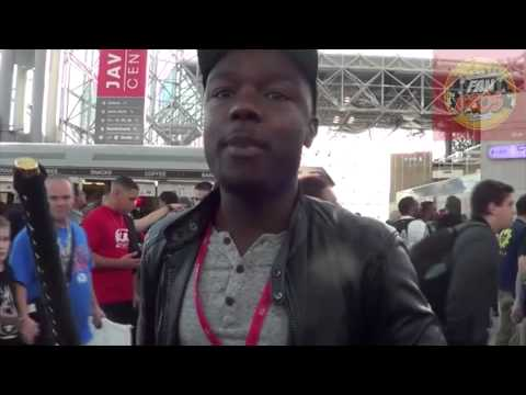 FanBrosShow Interviews Kid Fury (Live At NYCC2013)