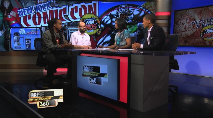 The Comic-Con Preview With Arise TV (VIDEO)