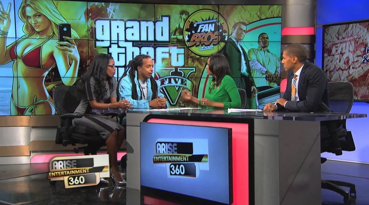 Violence In Video Games & GTAV (FanBrosShow On Arise TV 360)