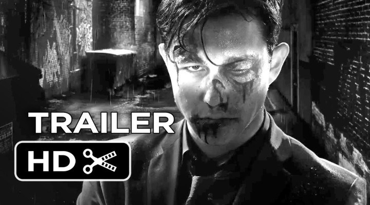 Sin City 2's 1st Trailer Is Black & White With Some Blue In There Too
