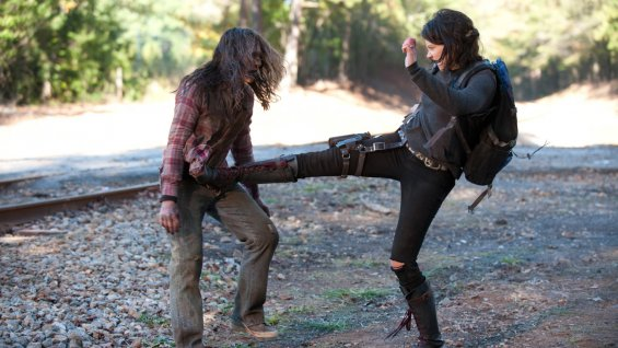 "FBS Special Delivery -The Walking Dead Finale Review ""A"""