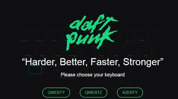 Internet Fun with Tatiana: Daft Punk Console by @Dathink