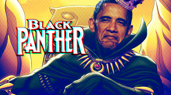 NEWS: Barack Obama Cast In Marvel's Black Panther