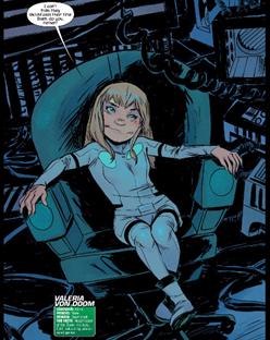 Runaways #1 Valeria Von Doom