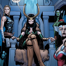 A-force #4 queen loki