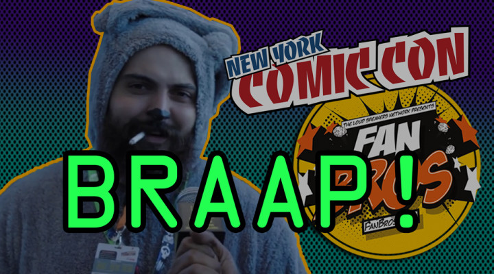 BRAAP Segment – NYCC 2015 (Volume One)