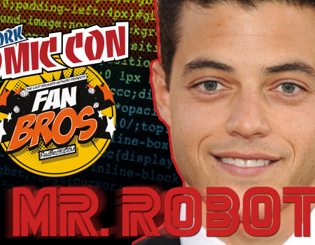 Mr. Robot talks to the Fanbros – NYCC 2015
