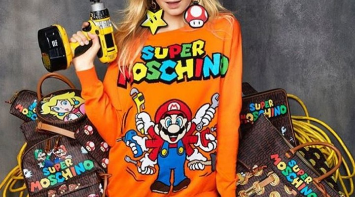 Moschino x Super Mario Collection