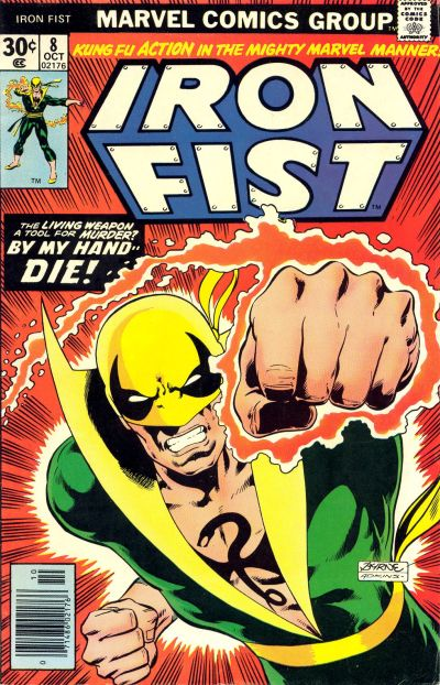 iron fist comic cover