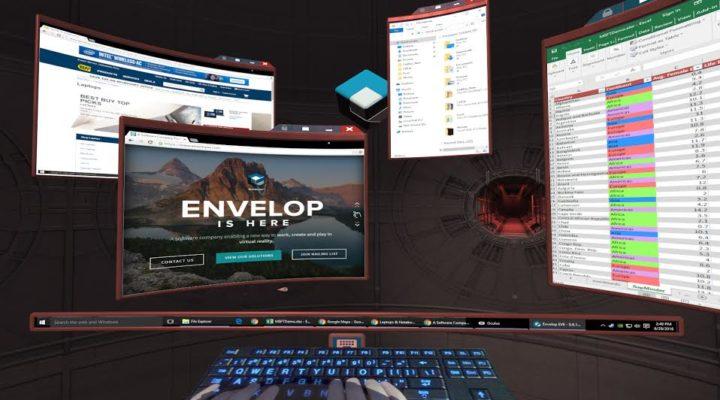 WORLD PREMIERE: Envelop VR [VRLA Preview]