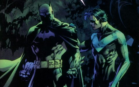 Batman and Nightwing L