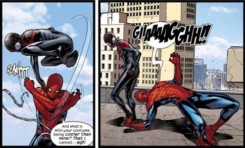 Miles vs Peter