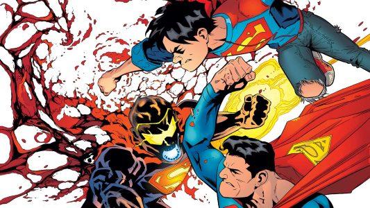 Superman and Jon