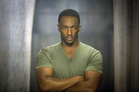 """From the movie """"Marvel's Captain America: The Winter Soldier""""..Falcon/Sam Wilson (Anthony Mackie)..Ph: Zade Rosenthal..? 2014 Marvel. All Rights Reserved."""