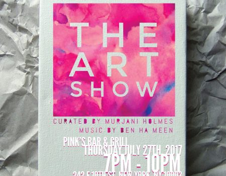 LIVE EVENT: The Art Show – Opening Party (July 27)