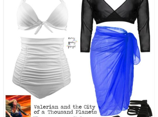 FANDOM FASHIONS: Valerian and the City of a Thousand Planets