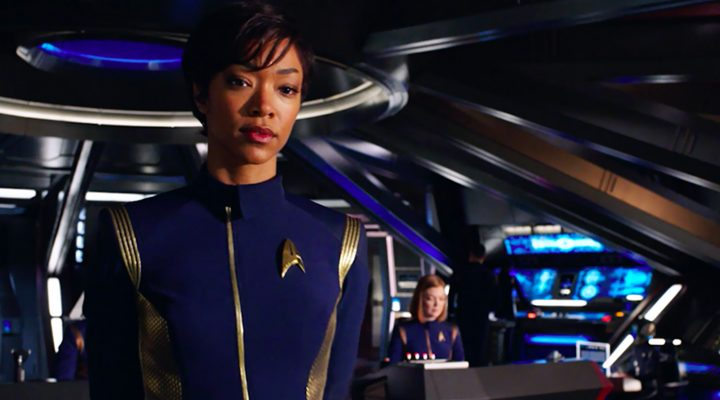 Sonequa Martin-Green, Moved to Tears Ahead of Star Trek Discovery