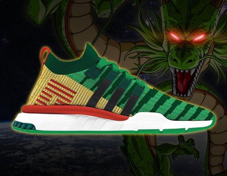 Kick the Dragon! Dragon Ball Z Sneakers From Adidas Coming This Fall!