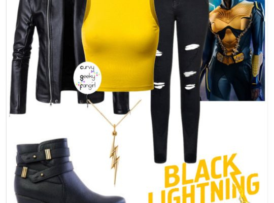 FANDOM FASHIONS: Black Lightning