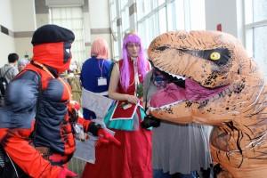 Deadpool-argues-with-a-Dinosaur